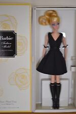 2016 Gold Label Silkstone BFMC CLASSIC BLACK DRESS Blonde Barbie - NEW
