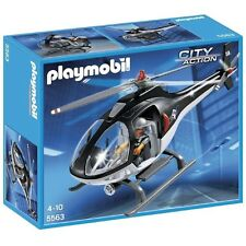 Playmobil City Action Police Tactical Unit Helicopter - Brand new!