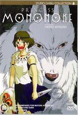 PRINCESS MONONOKE : NEW Ghibli DVD