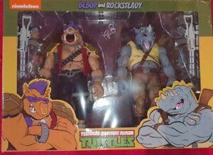 NECA  TMNT  Teenage Mutant Ninja Turtles Action Figures Bebop & Rocksteady