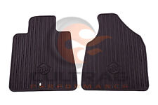 2011-2017 Buick Enclave Genuine GM Front All Weather Floor Mats Cocoa 22890386
