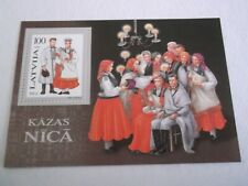1995 Latvia Traditional Costumes M/S m/m Mi.360. T40