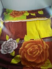 """Sofpro Multicolored Flower BABY BLANKET 30""""X30"""", 100% Polyester, New"""