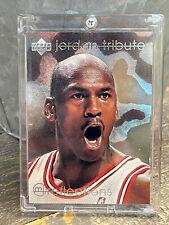 Michael Jordan Card - Refractor - UPPER DECK INSERT SILVER  HOLO SP FOIL #23