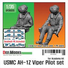 USMC AH-1Z Viper Pilot set for Academy 1/35 kit (2 FIG.), DEF Model DF35020,1/35
