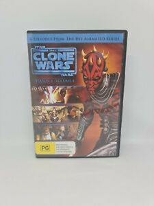 STAR WARS: THE CLONE WARS Season Four Volume Four DVD Region 4 TV Show VGC