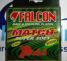 FALCON MATCH SUPER SOFT MONOLINE 0.28mm 11.120kg 300m MADE IN JAPAN