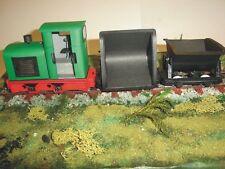 Modelik 08/09 - Feldbahn GLS 30 und 2 Güterloren 1:25  mit Lasercutteilen