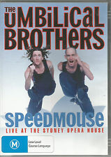 The uMBILICAL BROTHERS....SPEEDMOUSE...Live At Sydney... .DVD .. Region 4...