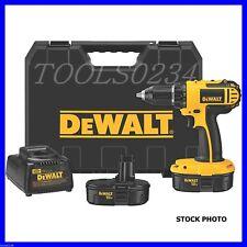 "Dewalt DC720KA 18-Volt NiCd 1/2"" Cordless Compact Drill/Driver Kit Dated  2015"