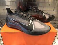 Nike Zoom Gravity Running Shoes Black Anthracite BQ3202-004 Men's NEW