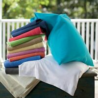 400Thread count Egyptiancotton PillowCase Pair-Square/King/Housewife Solid color