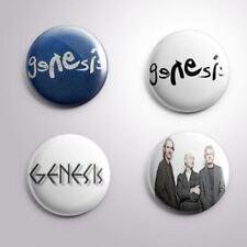 4 GENESIS -  Pinbacks Badge Button 25mm 1''