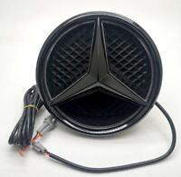 For Mercedes Benz Illuminated Black Car Led Logo Emblem Grille Light Twist Type