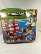 New ListingLego 21152 The Pirate Ship Minecraft 386 Pieces