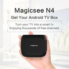 Android 7.1 4K Quad Core Network TV Set-top Box Home Media Player WiFi For N4