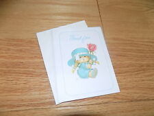Vintage Undercover Kids Ruth Morehead Sangamon Thank You Greeting Cards