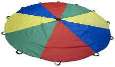 Schwungtuch HaeSt - 4 m - 6 m - Regenbogen - Griffe - Kinder - Spielen - Schule