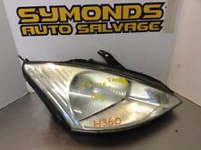 Ford Foucs Hatchback Saloon Estate 98-05 RH O/S Chrome Headlight - REF: H360