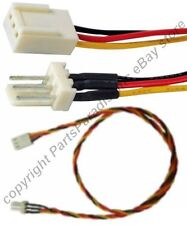 """Lot10 18""""LONG ATX 3pin Fan/Cooler Power Supply Extension Male~Female Cable/Cord"""