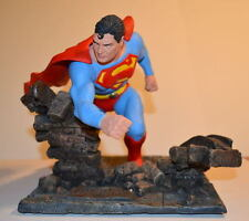 SUPERMAN AURORA TRIBUTE RESIN STATUE PROFESSIONAL BUILD & PAINT Extremely Rare