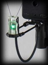 Delkim NEW Carp Fishing ES Nitelite Pro Duo Carb Indicator Set *GREEN*