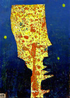self-alignment gone awry e9Art ACEO Abstract Expressionism Outsider Art Brut Raw