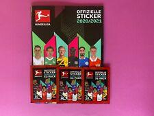Offizielle Sticker 2020/2021 3 Stickertüten + Stickeralbum