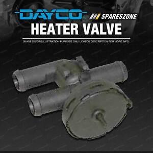 Dayco Heater Tap for Saab 9--3 9--5 2.0L 2.3L 4cyl DOHC Turbo B205LDM B205RDM