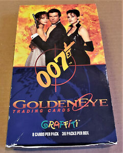 James Bond 007 GOLDENEYE Collector Cards 1995 Box of 37 Packs