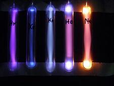 Ampullen 120/18 mm Set Neon Helium Argon Krypton Xenon 99,999 % geissler tube