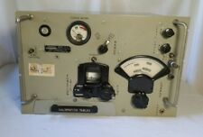 SIGNAL CORPS FR-6/U US AF FREQUENCY METER LAVOIE LABS With Calibration Tables