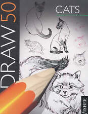 Draw 50 Cats, Ames, Lee J. Paperback Book The Cheap Fast Free Post