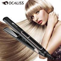 Professional Styler Hair Straightener Flat Iron Straightening Salon Instant Heat