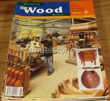 1995.WOOD REVIEW Magazine No.6.Issue SIX.Australian WOODWORK.Furniture.Design.