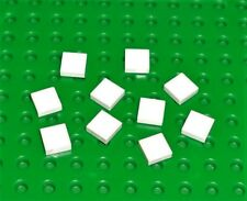 LEGO - WHITE - Tile, 1 x 1 with Groove, x 10 (3070b) WT38