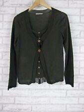 GERARD DAREL Knit Top Sz 2 (10) Brown 100% Wool