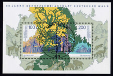 Bund Block 38 FDC SStpl. 50 Jahre Schutzgemeinschaft Deutscher Wald