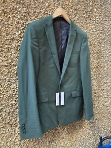 ASOS Green BNWT Mens Blazer Jacket SIZE 38 REGULAR NEW