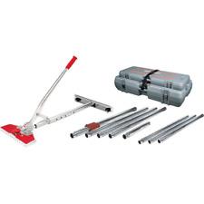 12 Piece 38 Ft Junior Power Carpet Stretcher Value Kit Wheeled Carrying Case