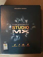 Macromedia Studio MX Education Version Windows XP