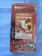 "COLLECTOR CARD ""GONE WITH THE WIND""- MINT FACTORY SEALED BOX - 1ST TALKING CARD!"
