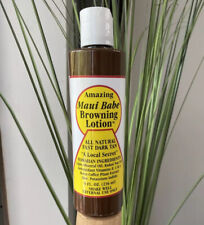 Amazing Maui Babe Browning Tanning Lotion  8oz (As Seen On Tik Tok)INSTANT SHIP