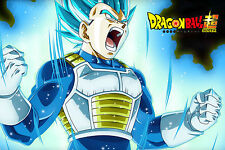 Dragon Ball Super Vegeta Blue God Saiyan Poster 12inchesx18inches Free Shipping