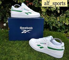 BNWB & Genuine Reebok ® Club C Revenge White Leather Trainers UK Size 7 EU 40.5
