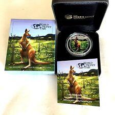 World Money Fair – Berlin Coin Show  - Australian Kangaroo 2014 1oz Silver Coin