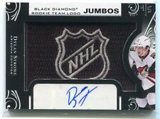 2016-17 Black Diamond Team Logo Dylan Strome Rookie NHL Shield Patch Auto 4/5