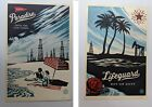 Set of 2 Signed Shepard Fairey Obey Lifeguard Not on Duty & Paradise Turns Tide