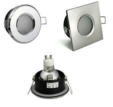 Bad Einbaustrahler Unterbaustrahler LED / Halogen Wasserfest IP65 8W Set Spot