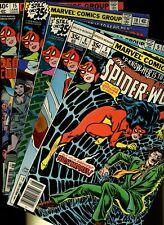Spider-Woman 5,8,9,10,15 * 5 Book Lot * Marvel Comics! Super Hero! Vol.1! Drew!